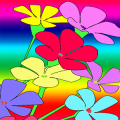Flowers Coloring Book Game