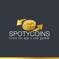 Spotycoins-Apps,Musica,Juegos!