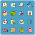 QQLauncher:Cute Cute Theme