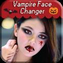 Vampire Face Halloween Makeup