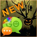 GO SMS Pro Theme Halloween