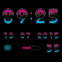 Digital Clock Android Mystic