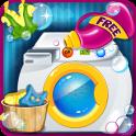 Kids Laundry Washing - Girls
