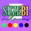 Throw a handwriting! - SUZEBI