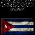 Cuba Digital Clock