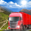 Delivery Mountain Truck Driver