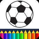 Fooball Kids Color Game