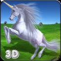 Unicorn Simulator Kids Race 3D