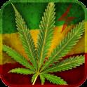Marijuana Leaf HD Battery