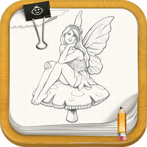 how to draw simple cartoon fairies