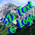 3D Text @ Logo