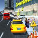 Supermarket Taxi Driver 3D Sim