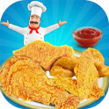 Deep Fry Chicken Cooking Game