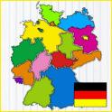 Deutschland Karte Spiel