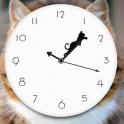 Tricky Cat Watch Face Clock