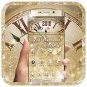 Gold Diamond Deluxe Clock 2018