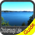 Chickamauga Lake Offline Fishing Chart