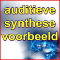 auditieve synthese vb