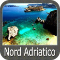 North Adriatic Sea GPS Map Navigator