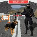 Border Patrol Sniffer Dog