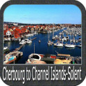 Cherbourg to Solent GPS charts