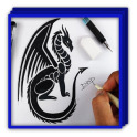 Drawing Dragon