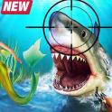 Angry Shark Hunting Rescue Mermaid Sea Adventure