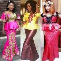 Bamako Skirt & Blouse Styles.