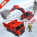 Snow Blower Truck Driving Simulator
