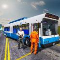 Bergpolizeigefängnis Bus
