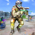 Paintball Arena Shooting