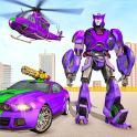 Juegos de disparos de coches robot de policía