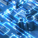 Circuits. Free electronic circuits wallpapers