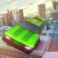 Free Limo Flying Car Simulator