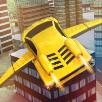 Flying Racing Car Simulator