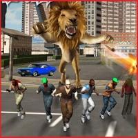 Monster Lion Attack
