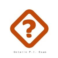 Ontario P.I. Exam Prep