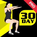 30 Day Wall Sit Challenge Pro