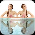 Photo Water Mirror Effect