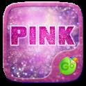Pink Glitter GO Keyboard Theme