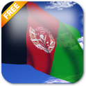3D Afghanistan Flag Live Wallpaper