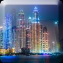 दुबई नाइट लाइव वॉलपेपर