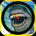Dangerous Funny Shark Sniper Hunting Shooting Pro