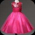 kleine Mädchen kleiden Design