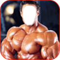 Body Builder Photo Frame
