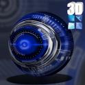 Blue Krome iconpack Next Theme