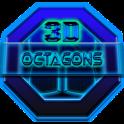 Next Launcher Theme Octagons