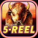 Buffalo 5-Reel Deluxe Slots