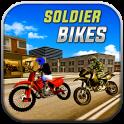 Soldier on Bikes Driving sim