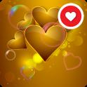 Gold Love Live Wallpaper